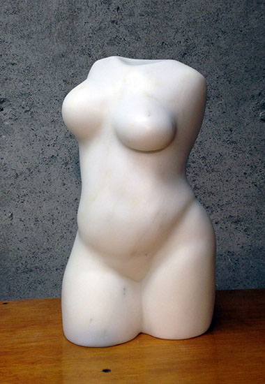 """Oriata"" Abstract Figurative Sculpture"