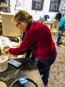 Ailene Fields, sculptor instructor