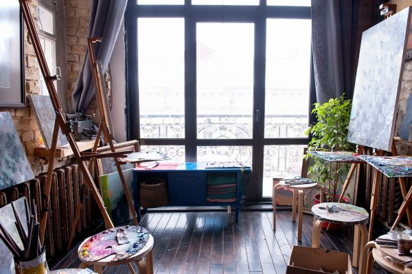 Nine Historic Artist Visual and Abstract Sculpture Studios in New York City