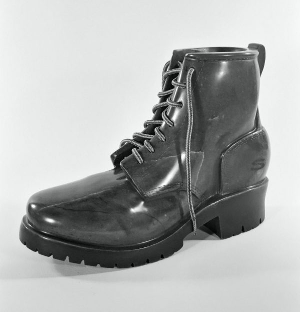 Skechers Boot Sculpture in Stone